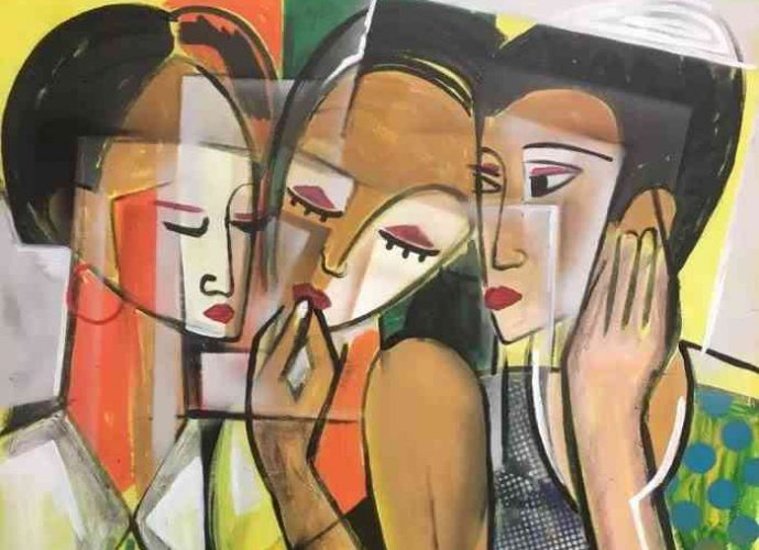 Нигерийский художник. Dada Adesoji Disu 48