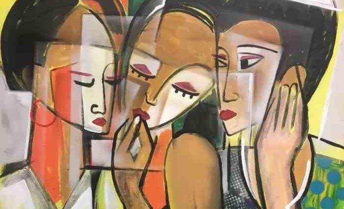 Нигерийский художник. Dada Adesoji Disu 1
