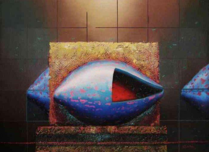 Индивидуальный язык. Перуанский художник. Fidel Ponce Ccana 2