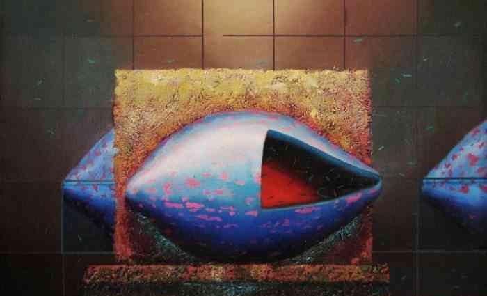 Индивидуальный язык. Перуанский художник. Fidel Ponce Ccana 1