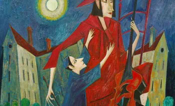 Польский художник. Iwan Kulik 1
