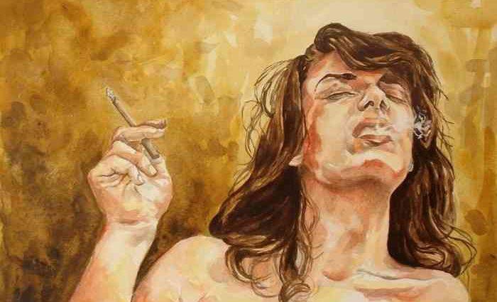 Мексиканский художник. Karla Rojo 1
