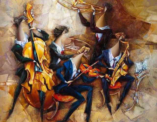 Израильский художник. Nathan Brutsky 123