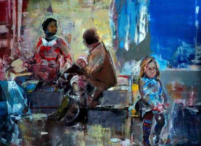 Армянский художник. Seyran Mejanyan 4