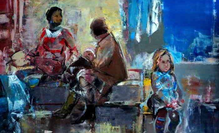 Армянский художник. Seyran Mejanyan 1
