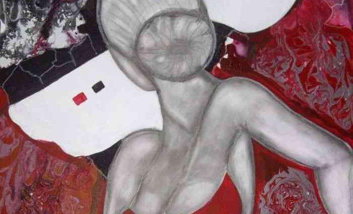 Французский художник-самоучка. Sylvie Oliveri 1