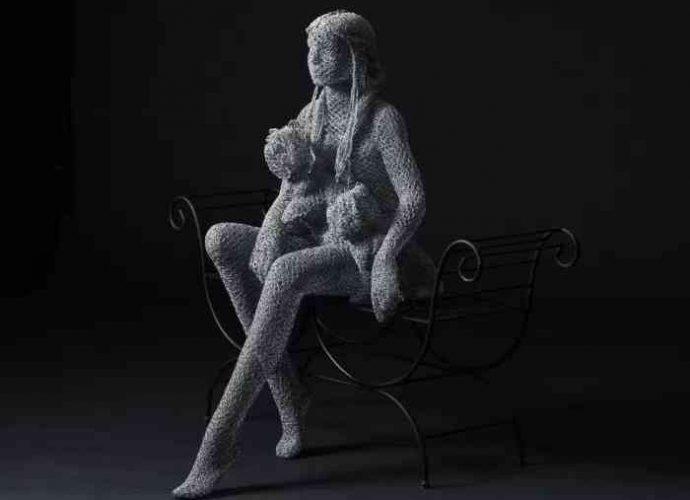 Коллекция внутреннего духа. Derek Kinzett (скульптор) 10