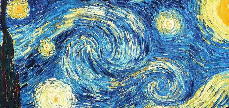 """""""Звёздную ночь"""" Ван Гога напечатали в 3D-формате 1"""