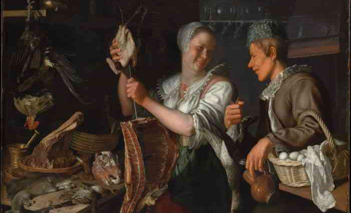 Еда и питье в европейской живописи, 1400-1800 гг. 1