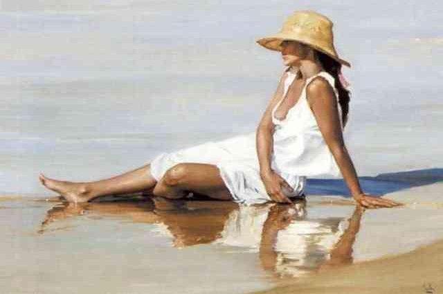 Женщины и море. Lluis Ribas 16+ 1