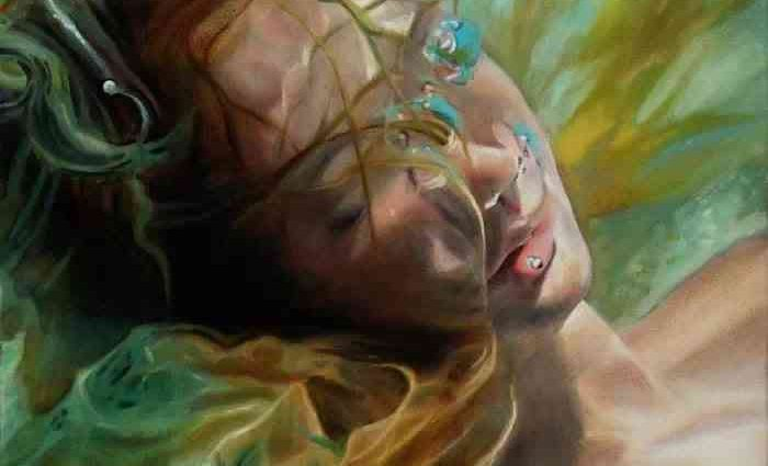 Американский художник. Michelle Osman 1