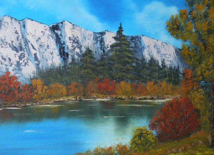 Американский художник. Aaron Thomas