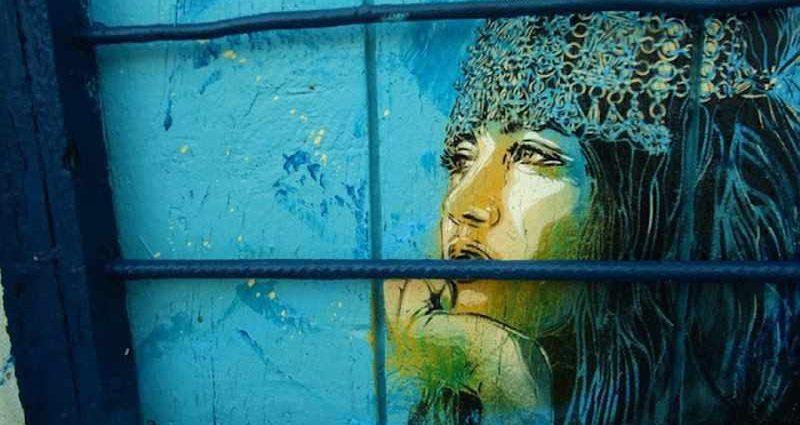Уличное искусство Кристиана Гуеми (Christian Guémy aka C215) 1