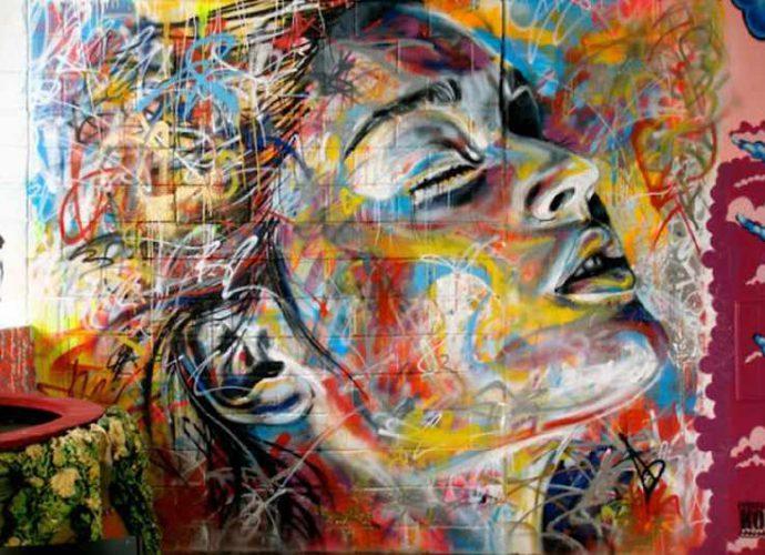 Уличный художник Дэвид Уокер (David Walker) 66