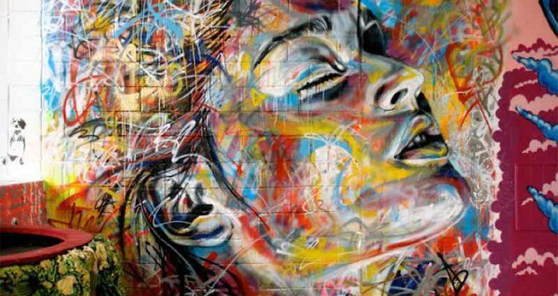 Уличный художник Дэвид Уокер (David Walker) 1