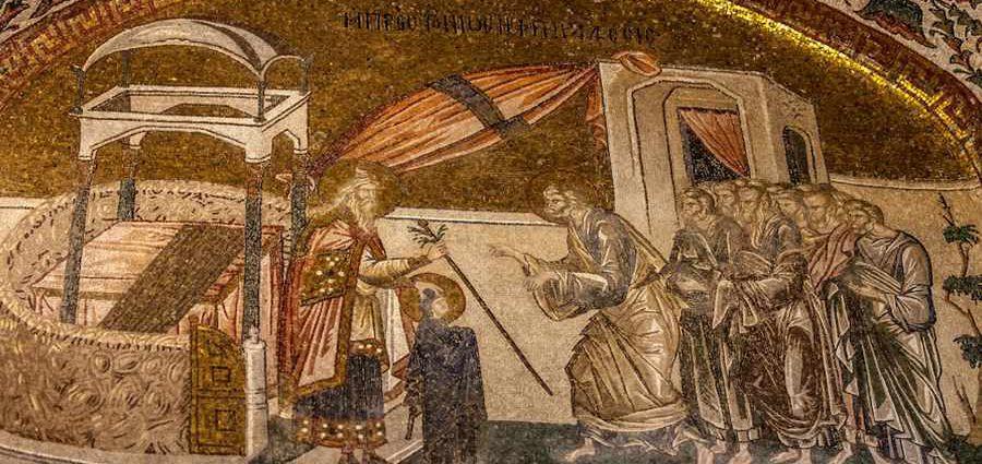 Фрески и настенная живопись в конце византийского периода