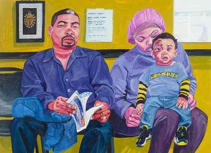 Американский художник. Jordan Casteel 116
