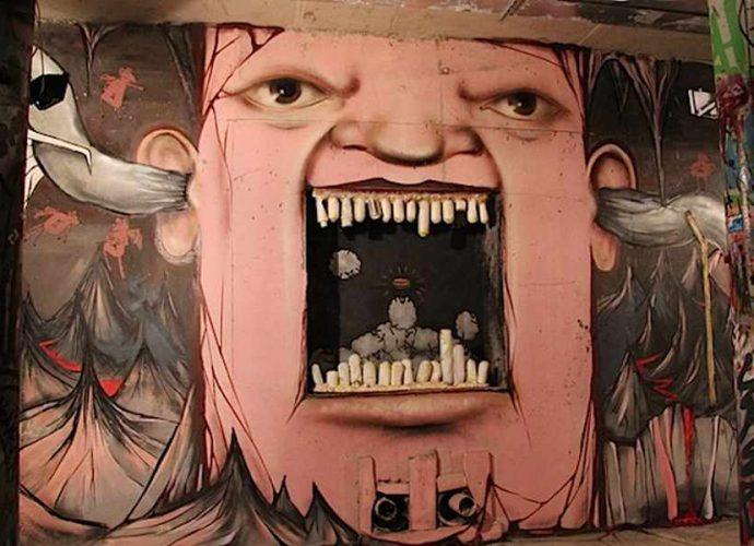 Художник граффити из России, Никита Nomerz 137