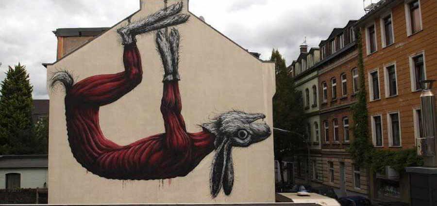ROA. Уличный художник