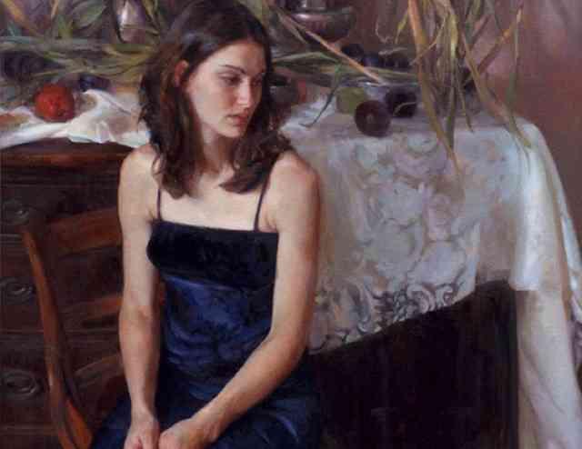 Аллегорические картины. Rose Frantzen 80