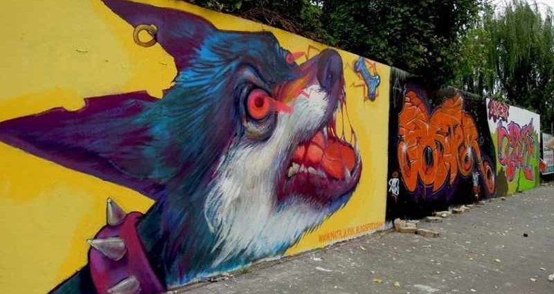 Уличное искусство. Natalia Rak