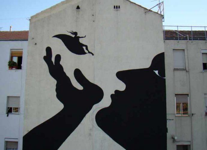 Фотографии работ уличного художника. Sam3 101