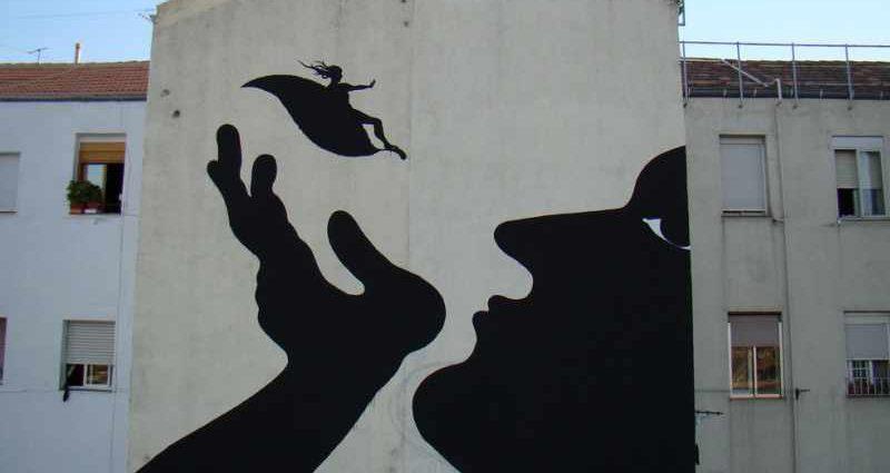 Фотографии работ уличного художника. Sam3 1
