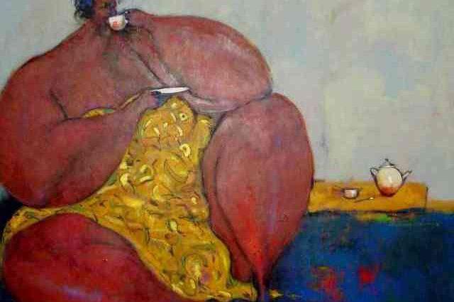 Современный нигерийский художник. Uthman O Wahaab 1