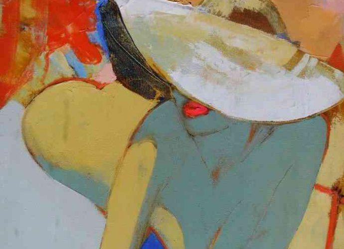 Цвет и композиция. Молдавский художник. Victoria Cozmolici 43