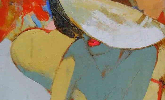 Цвет и композиция. Молдавский художник. Victoria Cozmolici 1