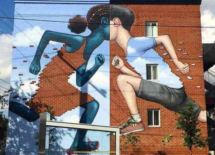 """Невероятный стрит-арт. Julien """"Seth"""" Malland 7"""