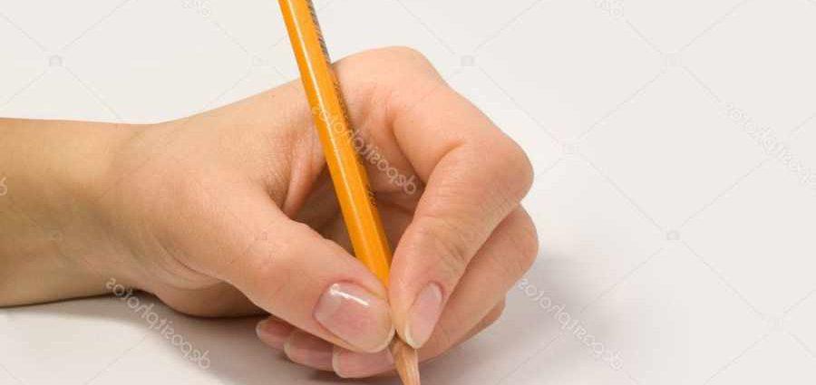 От пальцев до карандашей.