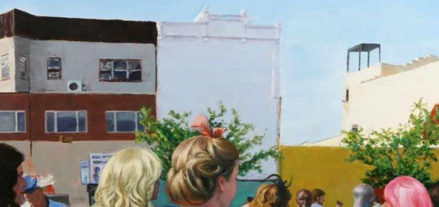Городской пейзаж. Patty Neal