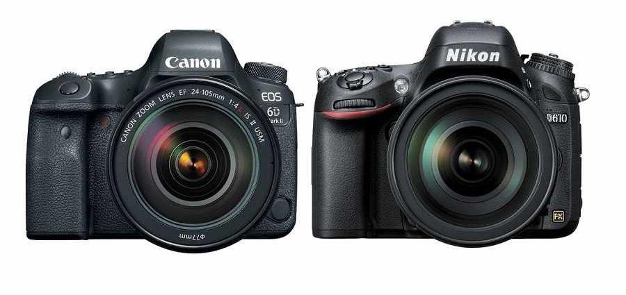 Справочник фотографа. Canon против Nikon
