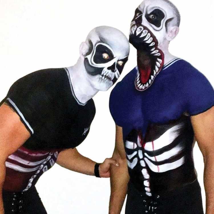 Venom and Football Zombie