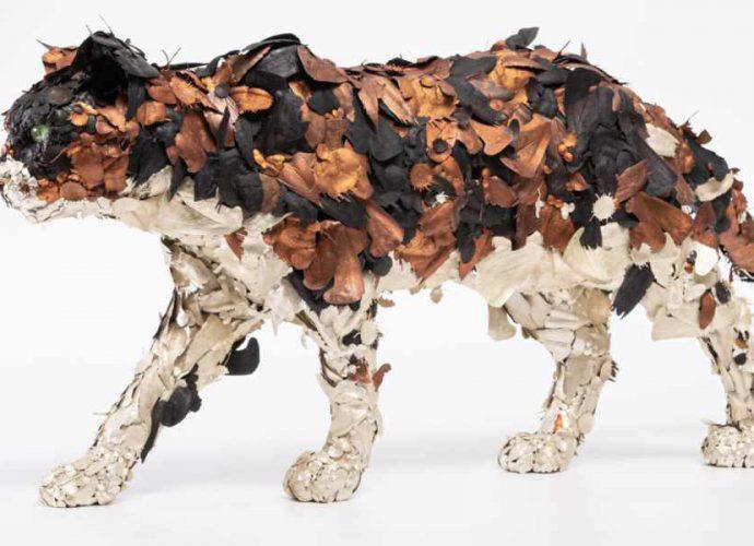 Замысловатые скульптуры животных Тайичиро Есиды