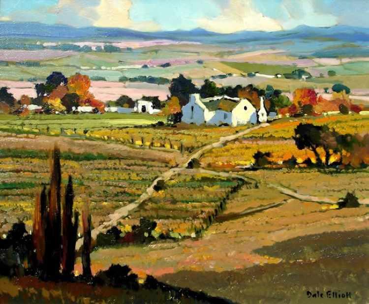 Современный южноафриканский художник. Dale Elliot 4