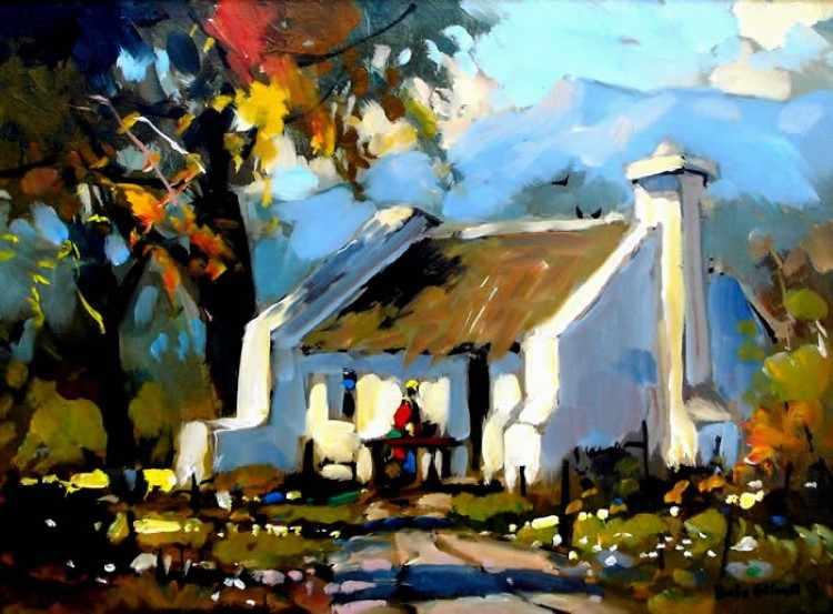 Современный южноафриканский художник. Dale Elliot 8