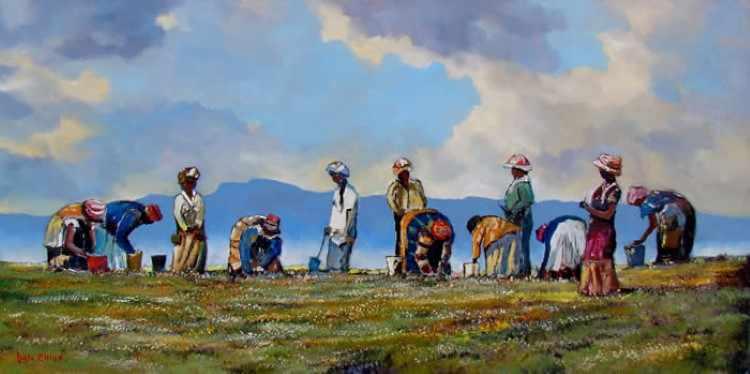 Современный южноафриканский художник. Dale Elliot 12