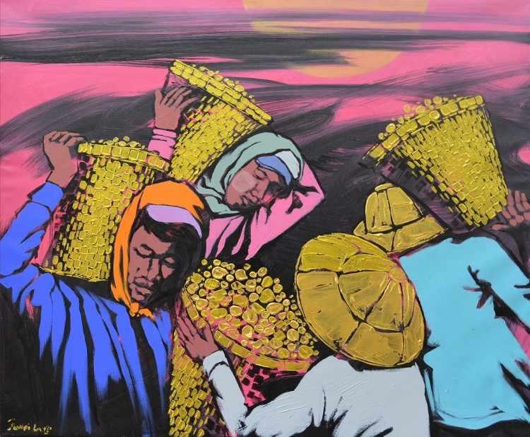 Художник из Мьянмы. Dawei Lay 8