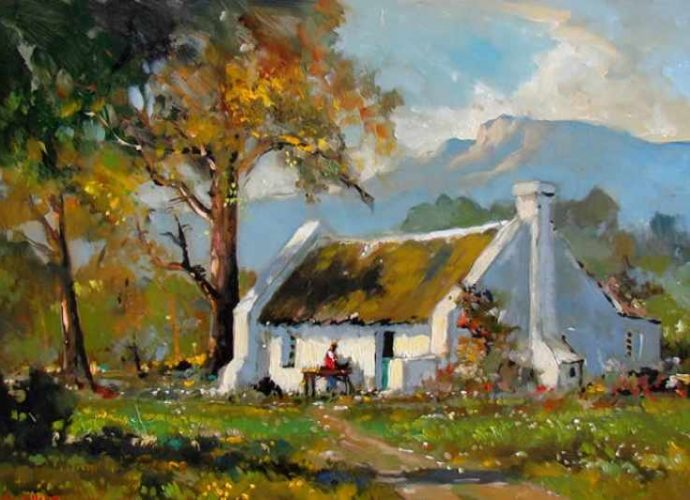 Современный южноафриканский художник. Dale Elliot