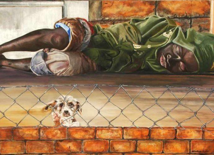 Итальянский художник. Maria Cristina Rumi