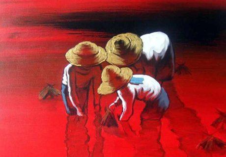 Художник из Мьянмы. Dawei Lay 16