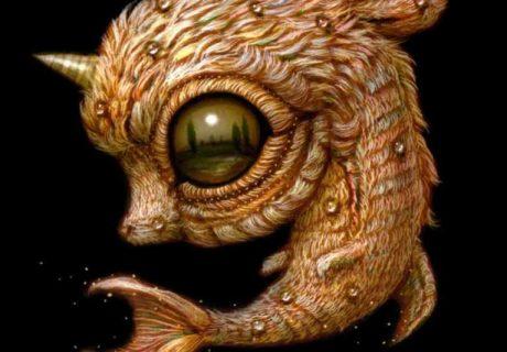 Причудливые монстры с широко раскрытыми глазами Naoto Hattori 14