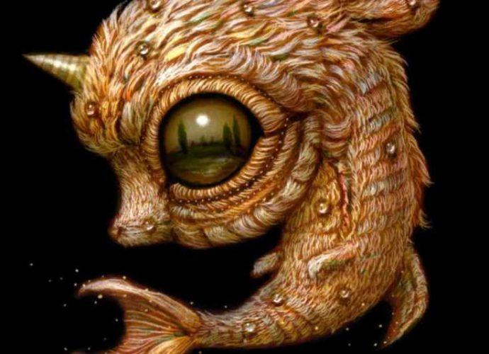 Причудливые монстры с широко раскрытыми глазами Naoto Hattori 1