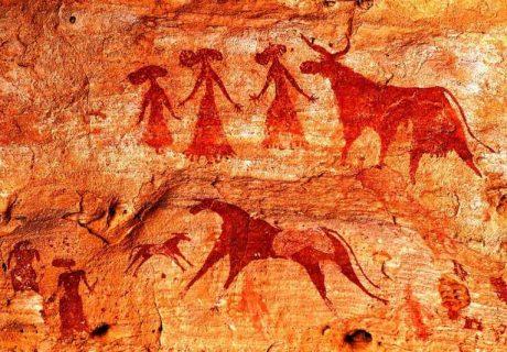 Наскальные рисунки. Доисторические. С 200000 по 2000 до н. э.